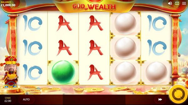 เกมสล็อต God Of Wealth