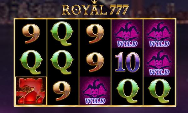 เกมส์ royal777 slot